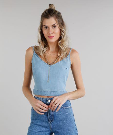 www.cea.com.br regata-feminina-jeans- ... 01cbe9bde6a
