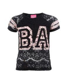 Blusa-de-Renda-com-Estampa-Barbie-Menina-Preta-8072167-Preto_1