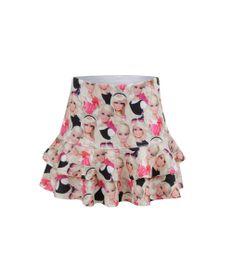 Saia-com-Babados-Barbie-Menina-Preta-8020980-Preto_1