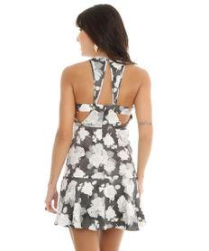 Vestido-Estampado-com-Flores-Cinza-Claro-8016325-Cinza_Claro_2