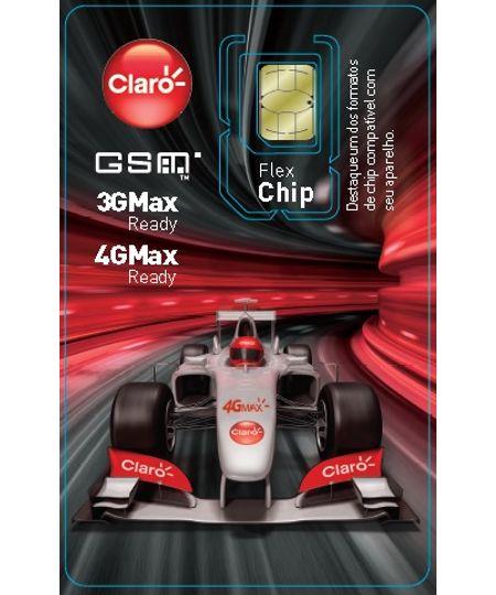 Chip CLARO Pré-Pago Triplo corte (Chip Universal Brasil)
