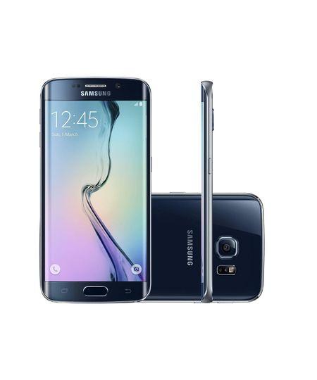 Smartphone Samsung Galaxy S6 Edge  - Preto Único