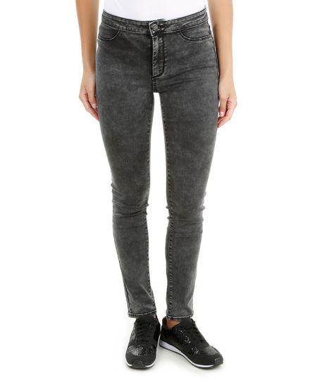 Calça Jeans Super Skiny Cinza