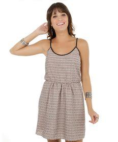 Vestido-Etnico-com-Franjas-Bege-Claro-7999228-Bege_Claro_1