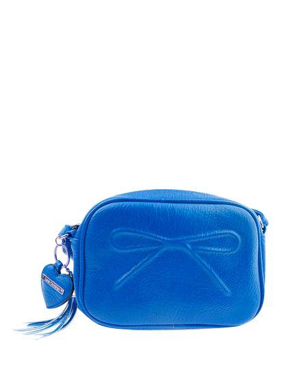Bolsa Sarah Chofakian Transversal Azul