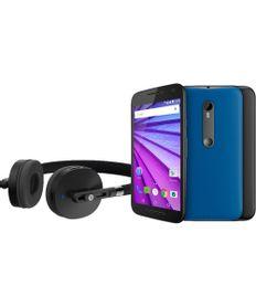 """Smartphone-Motorola-Moto-G--3ª-Geracao--Music-XT1543-com-Fone-de-ouvido-estereo-4G-Dual-16GB-Camera-13MP-5MP-5-0""""-QuadCore-1-4-GHz-Desbloqueado-Preto-8191098-Preto_1"""