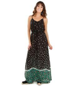 Vestido-Longo-Estampado-de-Margaridas-Preto-8090443-Preto_1