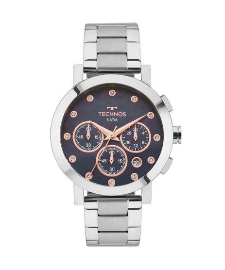 Relógio Technos Feminino Elegance Ladies Prata - OS2ABJ 1A ac70b3fddc