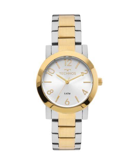 515a5d8dec7 Relógio Technos Feminino Elegance Boutique Bicolor - 2035MLO 5K