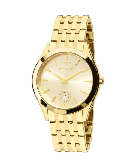 c4904401185 Relógio Technos Ladies 1M15AQ 4X Dourado