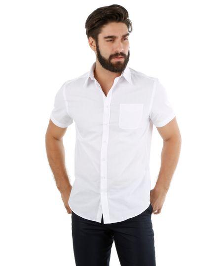 Camisa Social Comfort Branca