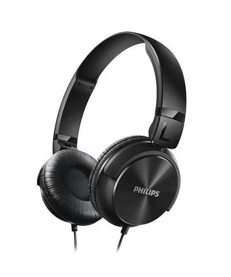 Fone De Ouvido Philips Estilo Dj Headband Preto - Shl3060Bk Preto