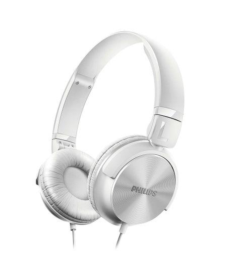 Fone De Ouvido Philips Estilo Dj Headband Branco - Shl3060Wt Branco