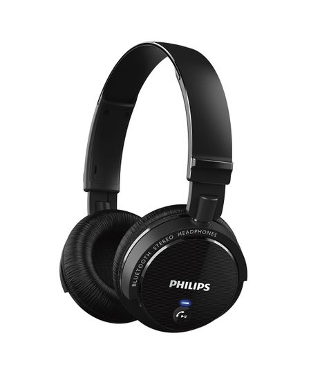 Fone De Ouvido Philips Bluetooth - Shb5500Bk Preto