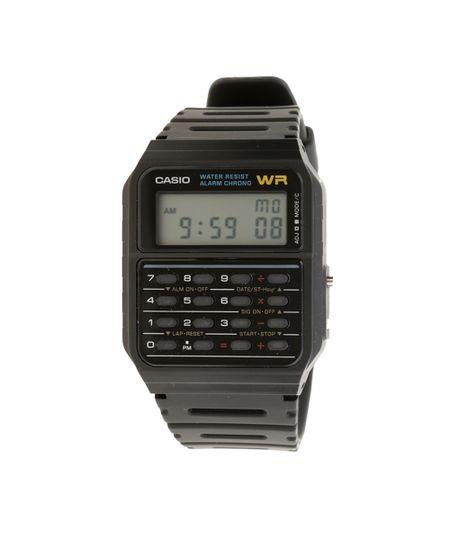 Relógio Digital Casio Masculino - CA53W1ZU - Preto