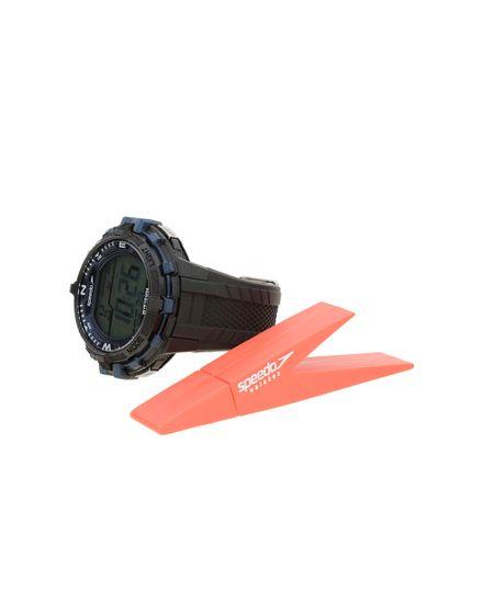 Relógio Digital + Pen Drive Speedo Masculino - 65069G0EVNP1K - Preto