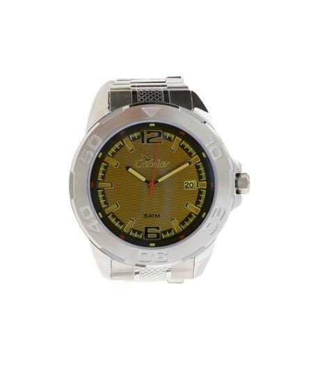 Relógio Analógico Condor New Masculino - CO2415AM/3C- Prateado