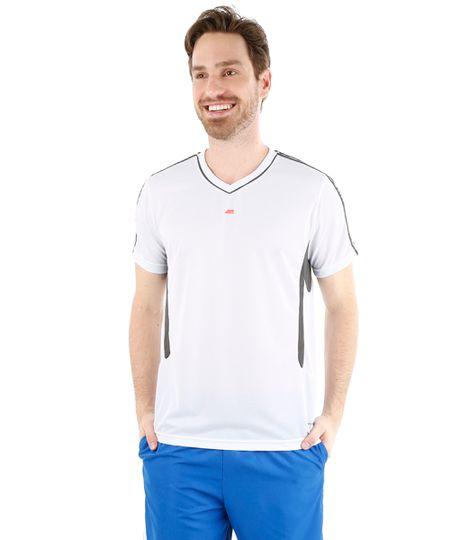Camiseta Ace Technofit Dry com Respiro Branca