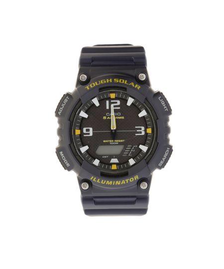 Relógio Analógico e Digital Casio Masculino - AQS810W2AVDFU - Azul Marinho