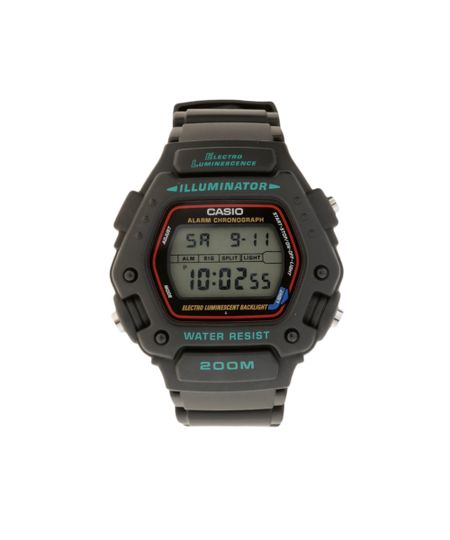 Relógio Digital Casio Masculino - DW2901VS - Preto