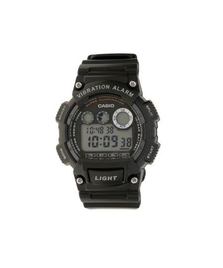 Relógio Digital Casio Masculino - W735H1AVDFU - Preto