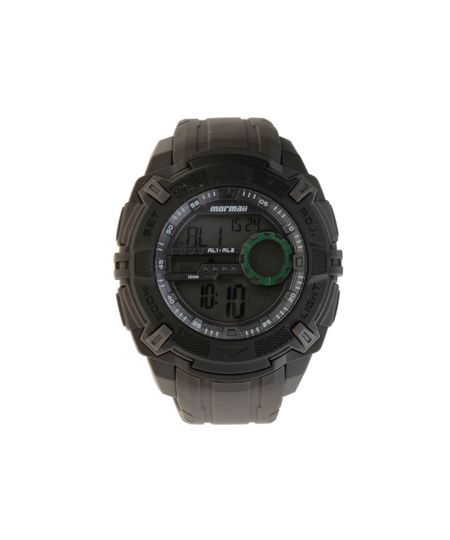 Relógio Mormaii Masculino Digital MO1077AC/8C Chumbo