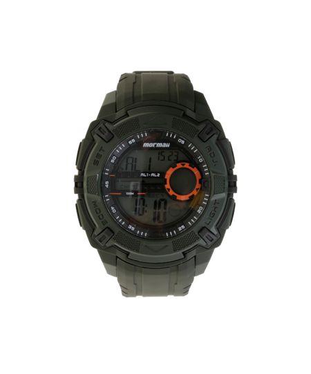 Relógio Mormaii Masculino Digital MO1077AB/8L Verde Militar