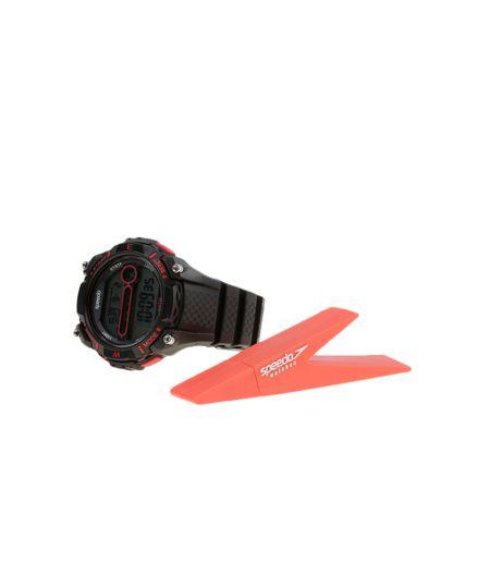 Kit de Relógio Speedo Masculino Digital + Pen Drive 81080G0EGNP1K - Preto