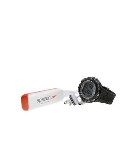 Kit de Relógio Speedo Masculino Digital + Carregador de Celular 65069G0EVNP2K - Preto