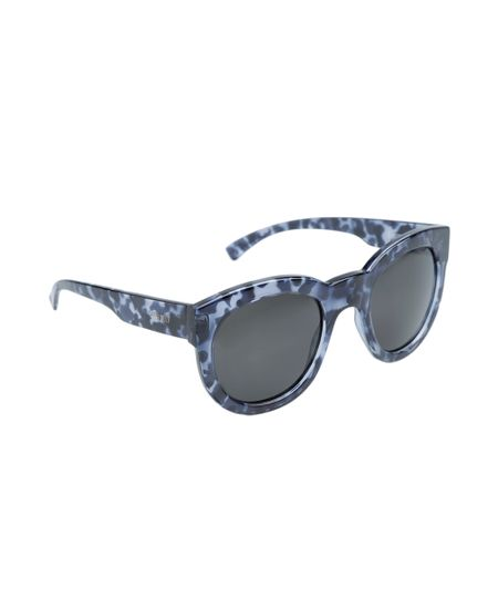 Óculos Gatinho Feminino Oneself Tartaruga - REF 1501C1 -  Azul Escuro
