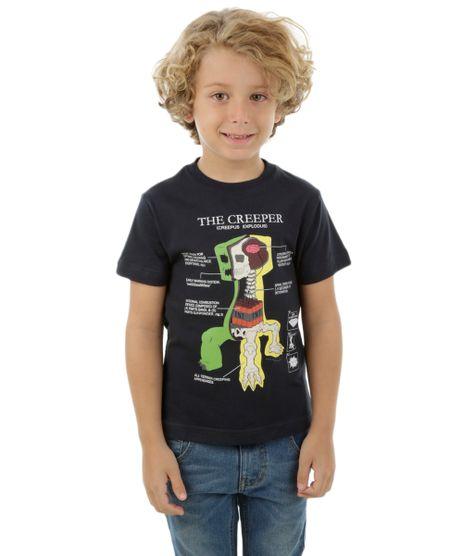 Camiseta-Minecraft-Azul-Marinho-8265688-Azul_Marinho_1