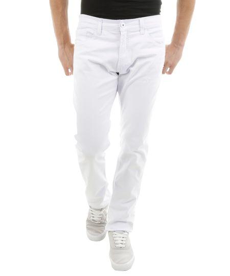 Calça Slim Branca