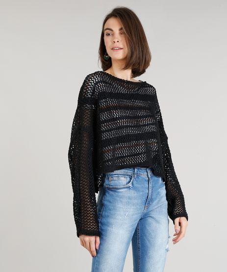 5fd1e301f9 Blusa Tricot Feminina em promoção - Compre Online - Melhores Preços ...