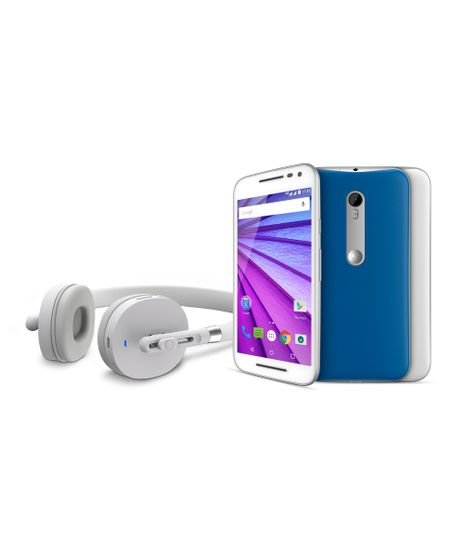 """Smartphone-Motorola-Moto-G--3ª-Geracao--Music-XT1543-com-Fone-de-ouvido-estereo-4G-Dual-16GB-Camera-13MP-5MP-5-0""""-QuadCore-1-4-GHz-Desbloqueado-Branco-8191098-Branco_1"""