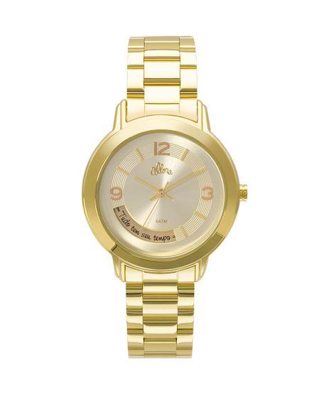 c0c96bcc003 Kit Relógio Allora Feminino Serena AL2315AI K4X - Dourado