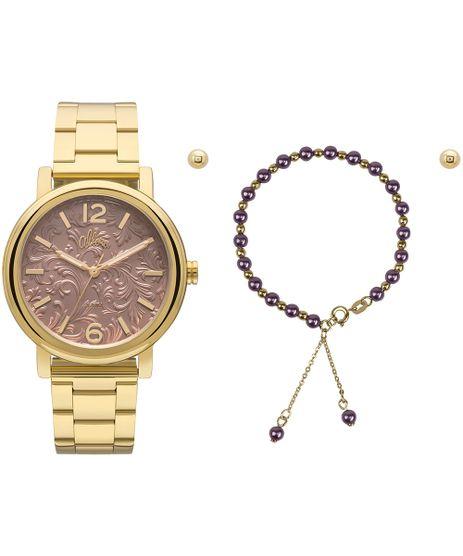 ffca13ad178 Relógio Allora Feminino AL2036CH K4M - Dourado