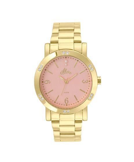 b58769474e7 Relógio Allora Feminino Encanto da Sereia AL2035FBG 4J - Dourado
