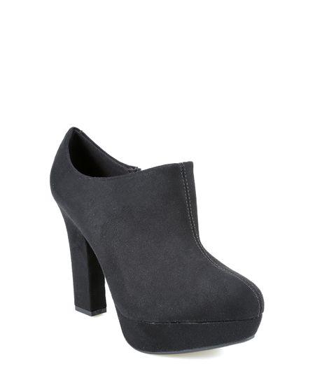 Bota Ankle Boot Vizzano Preta