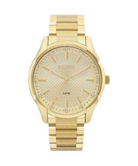 4b55087be7e Relógio Euro Feminino Spike Road EUY121E6AB 4D - Dourado