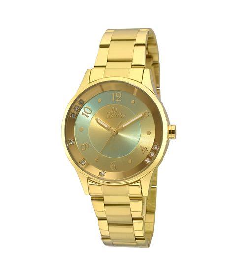 cb30d1b7e57 Relógio Allora Feminino Candy Colors AL2035FHT 4V - Dourado