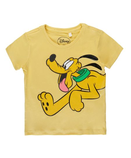 Camiseta Pluto Amarela