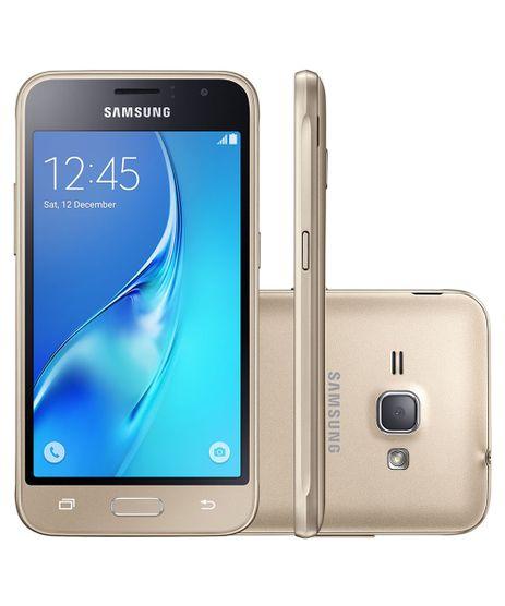 Smartphone-Samsung-Galaxy-J1-Duos-Tela-4-5--Super-AMOLED-Processador-Quad-Core-1-2Ghz-Memoria-8GB-Camera-de-5MP---Frontal-2MP-3G-Dourado-8340996-Dourado_1