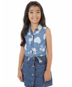 Camisa-Jeans-Barbie-Azul-Claro-8298893-Azul_Claro_1