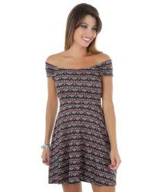 Vestido-Estampado-de-Arabescos-Preto-8329884-Preto_1