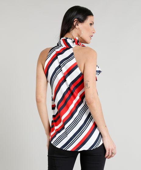 5abb6f0793 Camisa Feminina Com Laco em promoção - Compre Online - Melhores ...