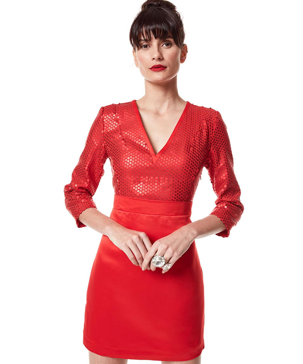 Vestido-Herchcovitch-com-Paete-Vermelho-