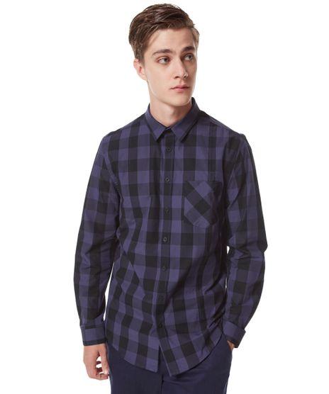 Camisa-Xadrez-Herchcovitch-Azul-8233060-Azul_1