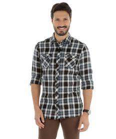 Camisa-Xadrez-Comfort-Preta-8179102-Preto_1