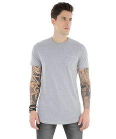 Camiseta-Longa-com-Bolso-Cinza-Mescla-8304740-Cinza_Mescla_1