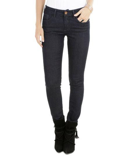 Calça Jeans Skinny Azul Escuro